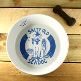 Port & Lemon Salty Old Sea Dog Bone China Bowl