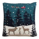 Sophie Allport Home for Christmas Knitted Statement Pillow