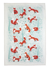 Foraging Fox 100% Cotton tea towel by Ulster Weavers.