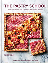 Julie Jones The Pastry School hardback cook book.