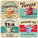 Martin Wiscombe Set of 4 Drinks Coasters.