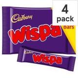 Cadbury's Wispa 4 Pack