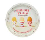 Martin Wiscombe Fresh Eggs Tin Tray