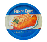 Martin Wiscombe Fish & Chips Tin Tray