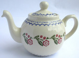 Brixton Pottery Creeping Briar handmade pottery 4 Cup teapot
