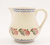 Brixton Pottery Creeping Briar medium pottery jug.