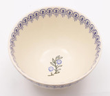 Brixton Pottery Floral Garland handmade pottery small bowl