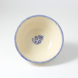 Brixton Pottery Lacey Blue handmade small nibblesmbowl