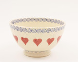 Brixton Pottery Hearts Medium Bowl