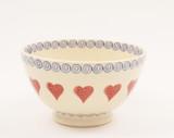 Brixton Pottery Hearts Medium Bowl