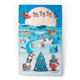 herdy Christmas Tea Towel