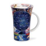 Dunoon fine bone china Night Sky mug in the Glencoe shape. Handmade in England.