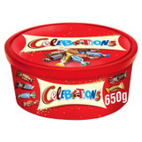 Celebrations  Selection Tub 650g
