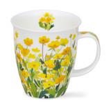 Handmade in England Dunoon Nevis Meadow Mug - Buttercup