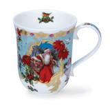 Dunoon Fine Bone China Braemar Vintage Christmas Mug