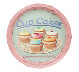 Martin Wiscombe Cup Cakes Tin Tray