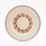 Brixton Pottery Creeping Briar handmade pottery 9 inch desset plate