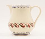Brixton Pottery Creeping Briar small pottery jug.