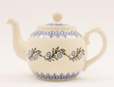 Brixton Pottery Floral Garland handmade pottery 4 Cup teapot
