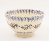 Brixton Pottery Floral Garland handmade small nibbles or dip bowl