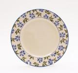 Brixton Pottery Geranium handmade pottery 7 inch side plate