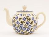 Brixton Pottery Geranium handmade pottery 4 Cup teapot