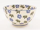 Brixton Pottery Geranium handmade small nibbles or dip bowl