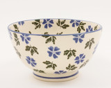 Brixton Pottery Geranium handmade pottery small bowl