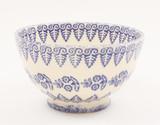 Brixton Pottery Lacey Blue  handmade pottery small bowl
