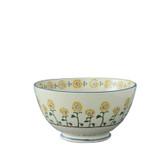 Brixton Pottery Sunflowers handmade pottery Deep Serving Bowl