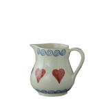 Brixton Pottery Hearts Tiny pottery Jug