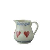 Brixton Pottery Hearts Tiny pottery Jug