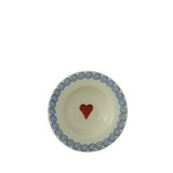 Brixton Pottery Hearts Small Shallow Dish