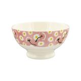 Emma Bridgewater Pink Pansy French bowl