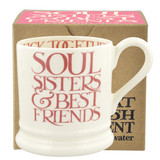 Pink Toast Soul Sisters Boxed Mug