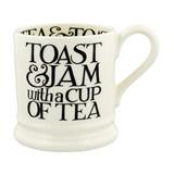 Black Toast Toast & Jam 1/2 Pint Mug