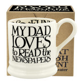 Black Toast I Love My Dad 1/2 Pint Mug Boxed