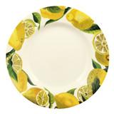 Emma Bridgewater Vegetable Garden Lemons 10 1/2 inch plate.