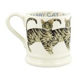 Emma Bridgewater hand made 1/2 pint mug.