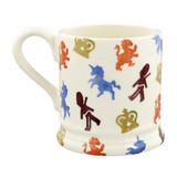 British Lions & Unicorns  1/2 Pint Mug