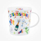 Dunoon Lomond Congratulations bone china mug.