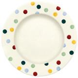 Emma Bridgewater Polka Dot 10 1/2 inch plate.