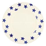 Emma Bridgewater Blue Star 10 1/2 inch plate.