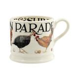 Hand made Rise & Shine Parade small mug from Emma Bridgewater
