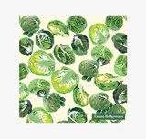 Emma Bridgewater Sprouts Lunch Napkin