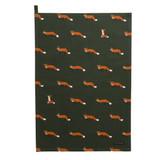 Sophie Allport Foxes 100% cotton Tea Towel