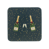 Bubbles & Fizz set of 4 coasters from Sophie Allport