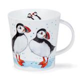 Dunoon Cairngorm Puffin Fine bone china mug