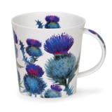 Dunoon Cairngorm Scottish Thistles Fine bone china mug