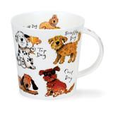 Dunoon Cairngorm A Dog's Life Fine bone china mug